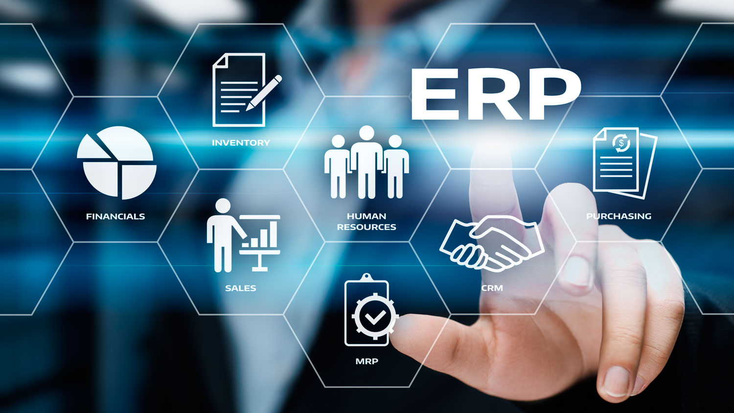 What is the purpose of using ERP software?